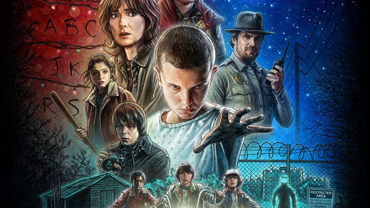 Stranger Things Copyright