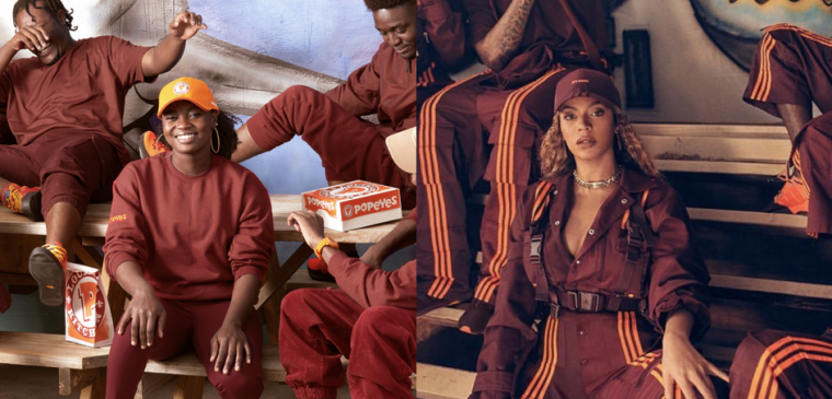 Colour Confusion - Beyoncé x Adidas x Popeyes